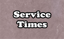 Calvary Gospel Church - Service Times