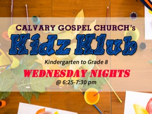 Announcements - Kidz Klub Weekly Announcement
